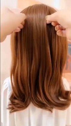 Easy Hairstyles For Long Hair, Girl Hairstyles, Easy Long Hair Braids, Easy Wedding Guest Hairstyles, Hairdo For Long Hair, Kid Hair, Long Hair Video, Box Braids, Trendy Hairstyles