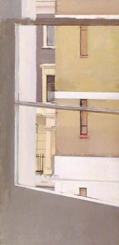 patrick george - My Studio Window, Moreton Terrace