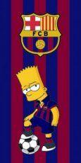 FC Barcelona badkamer - sjotterskraam