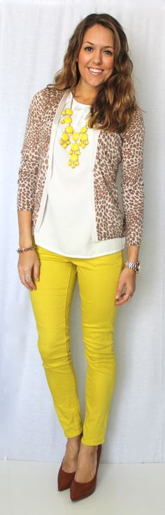 Today's Everyday Fashion: The Leopard Cardigan — J's Everyday Fashion