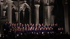 """St. Olaf Choir - """"Even When He Is Silent"""" - Kim André Arnesen... these guys are what i aspire to when i sing in choir..."""