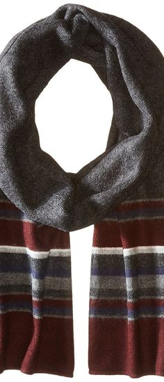 Tommy Hilfiger New American Stripe (Burgundy) Scarves - Tommy Hilfiger, New American Stripe, H8C63418-605, Accessories Scarves General, Scarves, Scarves, Accessories, Gift, - Street Fashion And Style Ideas