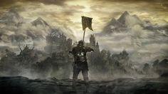 Jeux Vidéo Dark Souls III  Chevalier Armor Montagne Château Paysage Fond d'écran