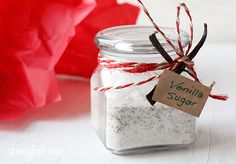 vanilla bean sugar
