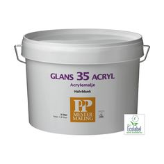 3 liter - Acrylemalje glans 35