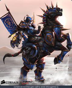 Draenei Paladin by Sia Kim » Галерея » World of Warcraft