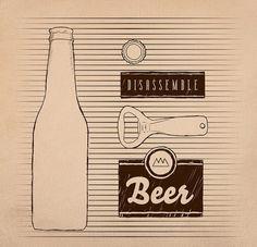 poster cartaz cerveja