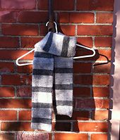 Ravelry: Despicable Me Gru's Scarf pattern by Erika Barcott