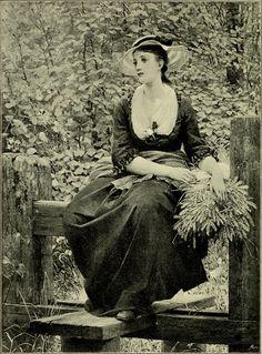 """Fair women in painting and poetry"" (1894) von George Dunlop Leslie (geboren am 2. Juli 1835 in London, gestorben am 21. Februar 1921 in Lindfield, Sussex), englischer Maler."