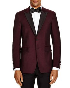 Burberry London Millbank Regular Fit Tuxedo Jacket