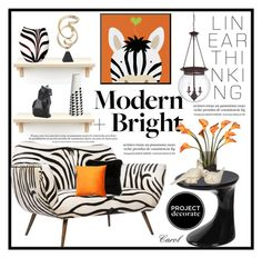 """""""Modern Decor"""" by hastypudding ❤ liked on Polyvore featuring interior, interiors, interior design, home, home decor, interior decorating, Emporium Home, Alden, Waterford and CB2"""