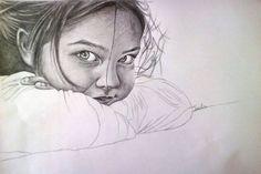 "Saatchi Art Artist Ioulia Gewrgakopoulou; Drawing, ""Anticipation"" #art"