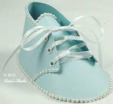 Znalezione obrazy dla zapytania baby shoes papercraft