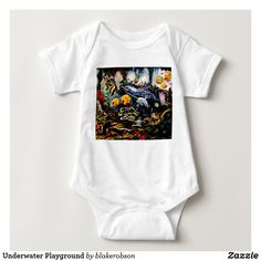 Underwater Playground Baby Bodysuit