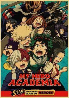 My Hero Academia Posters - T003 15