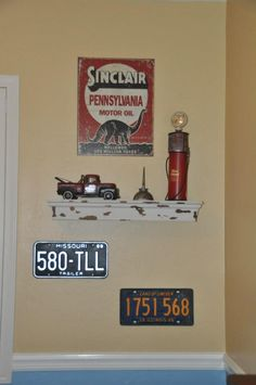 License plates that travel the path of Route 66