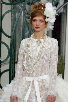 Natalia Vodianova at Chanel SS 2003