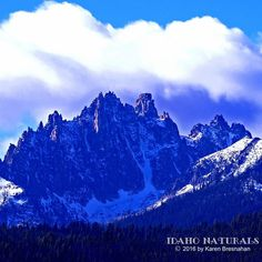 The gorgeous Teton Mountains.  #mountains #peaks #earth #landscape #outdoor #adventure #Idaho #tetons #stanley #magnificent #awesome_earthpics #ourplanetdaily #fantastc_earth #natureaddict #optoutside #earthfocus #earthofficial #earthpix #majestic_earth_ #nakedplanet #hiking.official #climbing