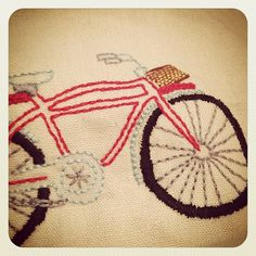 Really liking all the bike embroidery