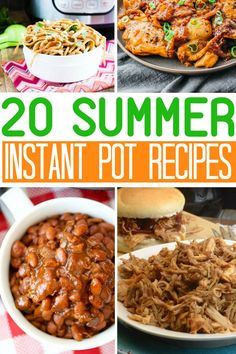 Looking for ways to use your Instant Pot this summer? Feast your eyes on these 20 Instant Pot summer dishes that can be made in your glorious Instant Pot. I have some quick and easy dishes you can whip up without heating your house up and serve your family. From tasty pulled pork dip, shredded ... Read More about 20 Instant Pot Summer Dishes
