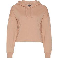 Drop Sleeve Cropped Hoodie ❤ liked on Polyvore featuring tops, hoodies, cropped hooded sweatshirt, sleeve top, red cropped hoodie, hooded sweatshirt and red hoodies