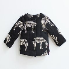 Zebra Padded Jacket