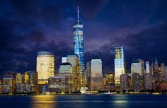 Freedom Tower Wallpaper Mural, custom made to suit your wall size by the UK's No.1 for murals. Custom design service and express delivery available.