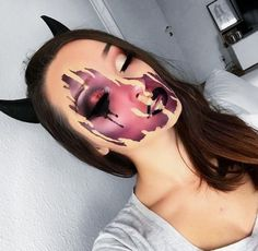 10 Stunning Makeup Ideas for Halloween Scary Makeup, Sfx Makeup, Costume Makeup, Makeup Art, Makeup Ideas, Beauty Makeup, Amazing Halloween Makeup, Halloween Makeup Looks, Halloween Halloween