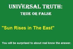 Universal Fact
