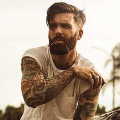 Cool 45 Funky Men's Undercut Hairstyles and Haircuts http://inspinre.com/2018/02/27/45-funky-mens-undercut-hairstyles-haircuts/