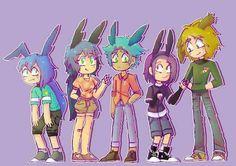 Todos los conejitos :3