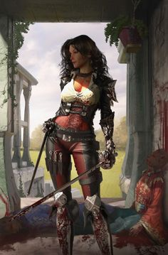 Women of Fantasy Fantasy Girl, Fantasy Warrior, Fantasy Women, Dnd Characters, Fantasy Characters, Female Characters, Pirate Art, Pirate Woman, Pirate Crafts