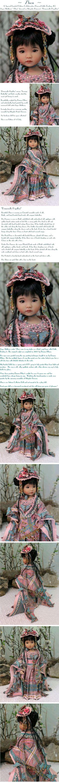 "~ Zhen ~ A Special Limited Edition Collaborative - LE of 5 Dressed Little Darling #2 Doll, Joyce Matthews' ""Zhen"" dressed in Magalie Dawson's ""Demois…"