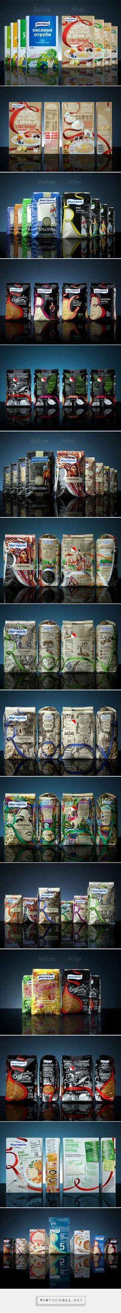 Mistral Redesigned packaging designed by DDVB - http://www.packagingoftheworld.com/2015/10/mistral-redesigned.html