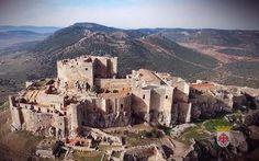 Calatrava la Nueva Castle In The Sky, Beautiful Castles, Fortification, Spain And Portugal, Knights Templar, Medieval Castle, Spain Travel, Tourism, Landscape