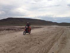 Northern Nevada ride on the 950 Super Enduro.