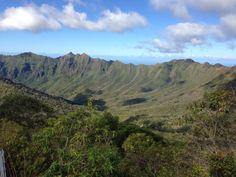 Wai'anae Ka'ala Trail. Amazing views, challenging and fun trail. 6 mile roundtrip. Leeward side of Oahu.