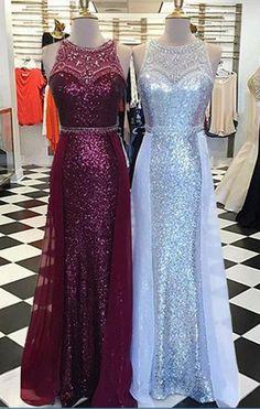 1dcf85aeb0b Crystal Beading Mermaid Evening Dress