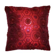 Blossom Pillow inspired by Dorthy Ruby Red Slippers from The Wizard of Oz