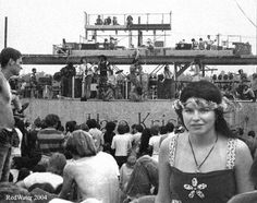 I would have given anything to be alive for Woodstock
