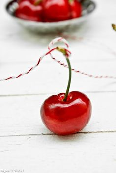Dazzling Red #Sweet #Cherries