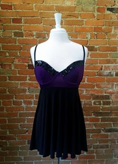 amore bolejo purple babydoll