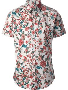 GUCCI - Camisa floral