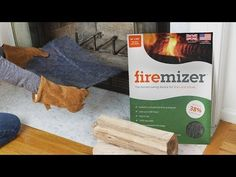 These wood burning stove inserts, discovered by The Grommet, distribute heat evenly and make your firewood last up to 33% longer.