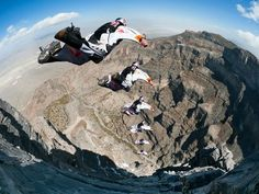 BASE Jumping, Utah A Red Bull Air Force Team member BASE jumps off a cliff in southwestern Utah Action Photography, Extreme Photography, Base Jumping, Hang Gliding, Ice Climbing, Skydiving, Advertising Photography, Wakeboarding, Photos Of The Week