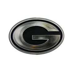 "Green Bay Packers Logo 3D Chrome Auto Emblem NEW!! Truck or Car! – Hub City Sports   Aaron Rodgers Use ""promo30"" code at hubcitysports.net for 30% off of your entire order!"