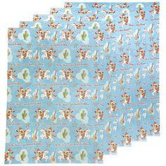 Papier cadeau cowboys - My Little Bazar décoration pour chambre enfant