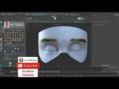 Maya Tutorial -Creating eyebrows with xgen - YouTube