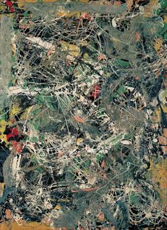 Untitled by Jackson Pollock (1949)
