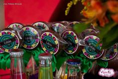 Festa de aniversário decoração tema Feijoada 50 anos NanaLu rosa menina (69)9965-0014 personalizados